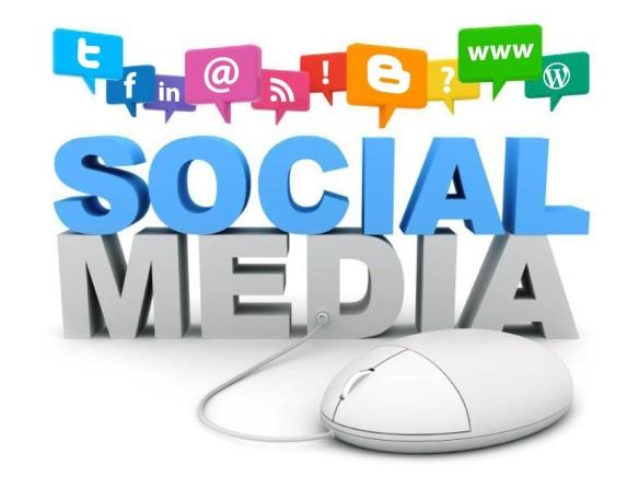 Gerenciamento de mídias sociais.